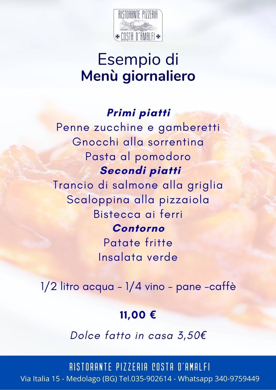 Esempio menu giornaliero_
