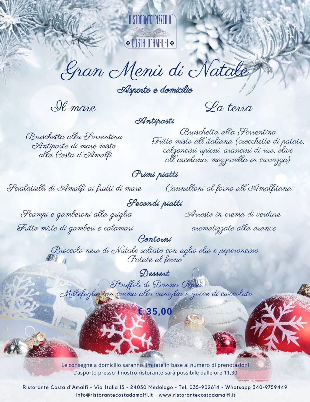 I Menù di Natale